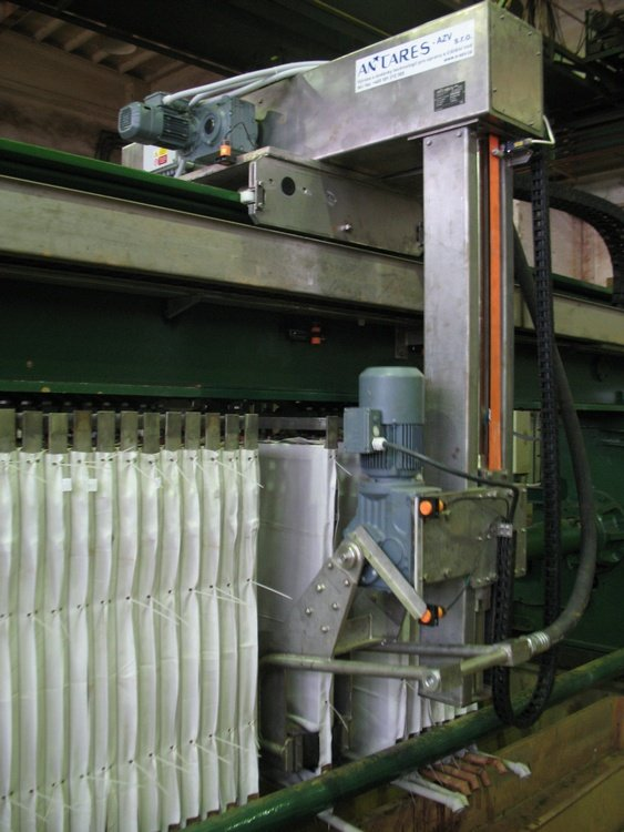 Washer with swing arm<br />